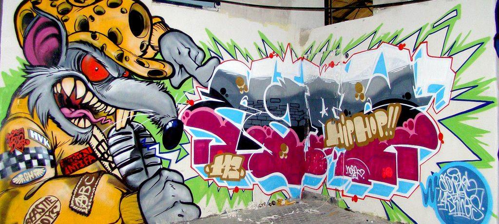 Miljøvenlig graffitirens